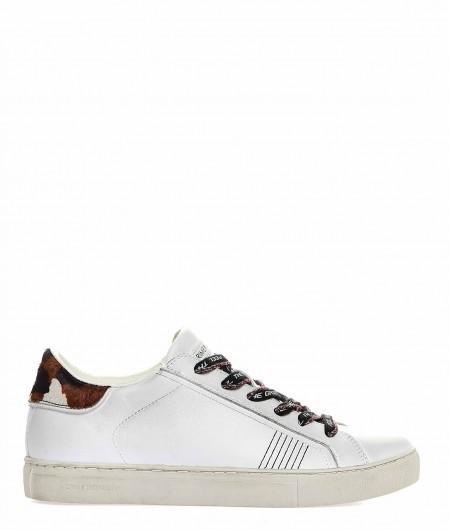 Crime London Low Top Sneaker white