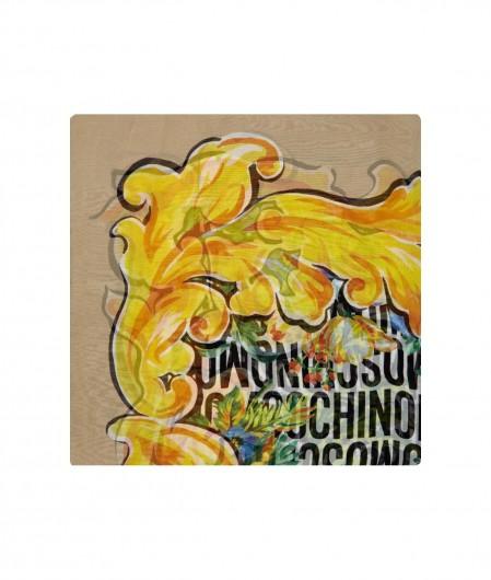 Moschino Maxi foulard multicoloured