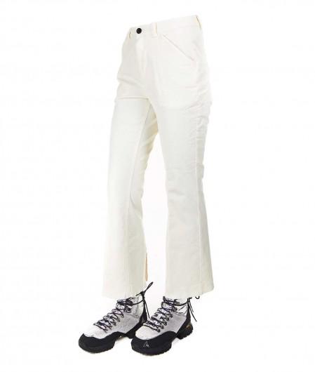 """Department 5 Cord velvet pants """"Xsara"""" white"""