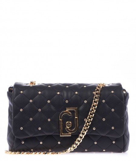 Liu Jo Small quilted crossbody bag black