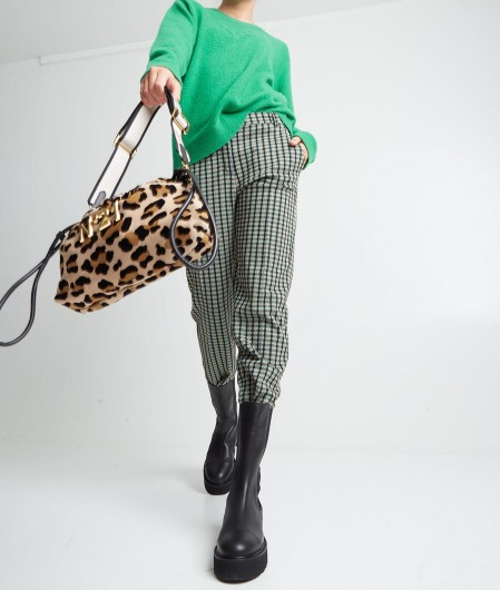 N°21 Sweater with round neck green
