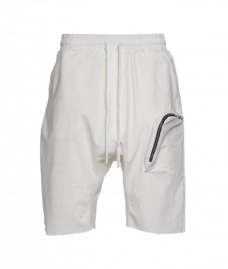 Thom Krom Shorts mit tiefem Schnitt Creme