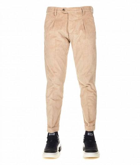 Cruna  Corduroy trousers beige