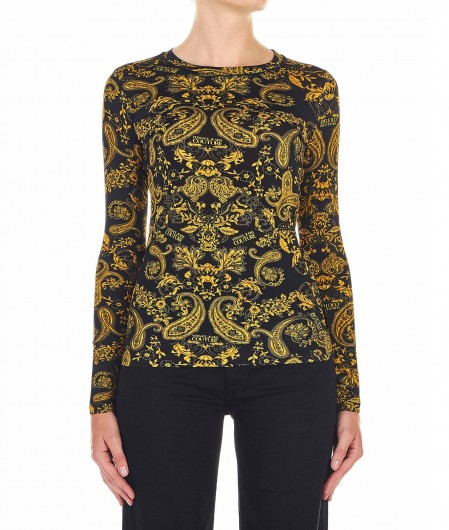 Versace Jeans Couture Shirt with allover print black