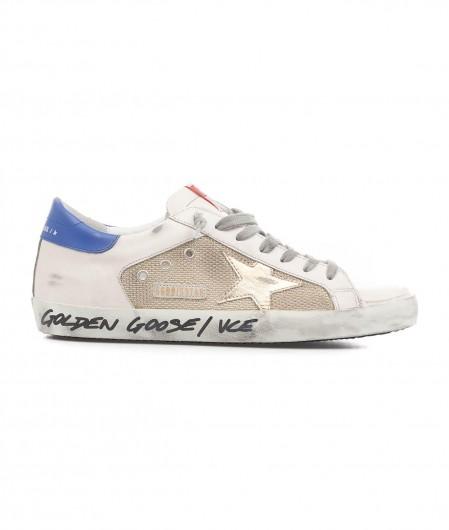 """Golden Goose Sneaker """"Super-Star Double Quarter"""" white"""