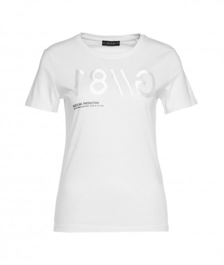 Guess T-shirt with writing white