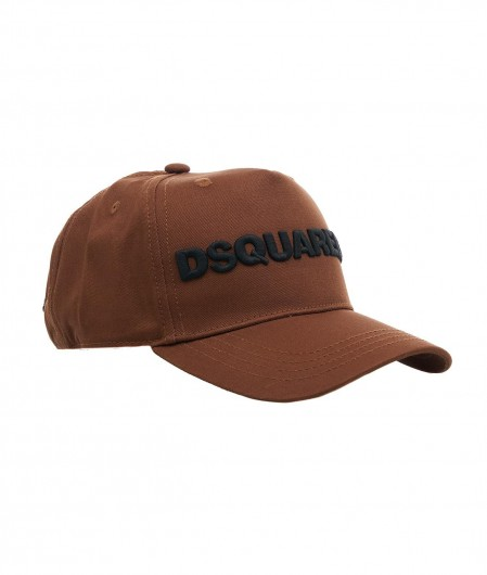 Dsquared2 Baseball cap with logo brown