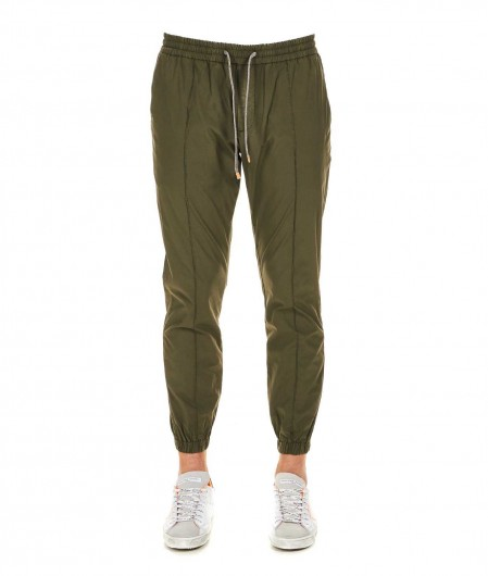 Eleventy Casual trousers olive