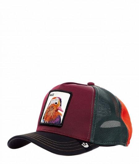 "Goorin Bros Baseball Cap ""Sauce"" Rot"