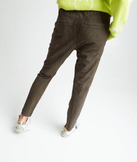 Oakwood Pants in goatskin green