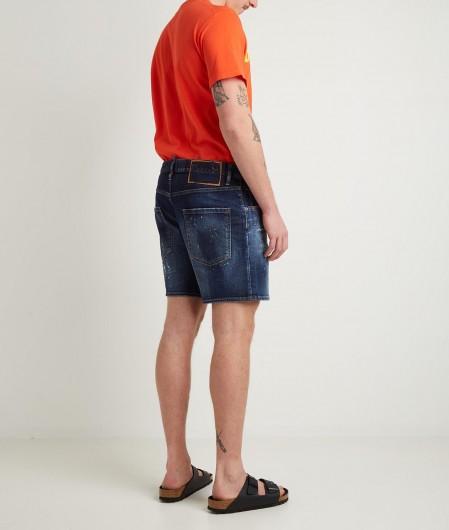 Dsquared2 T-Shirt with logo writing orange