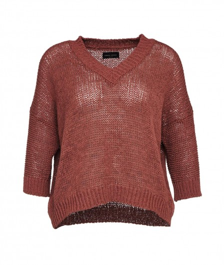 Roberto Collina Knitted sweater brown