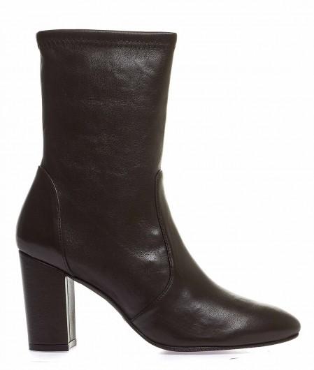 """Stuart Weitzman Sock-Boots """"Yuliana"""" brown"""