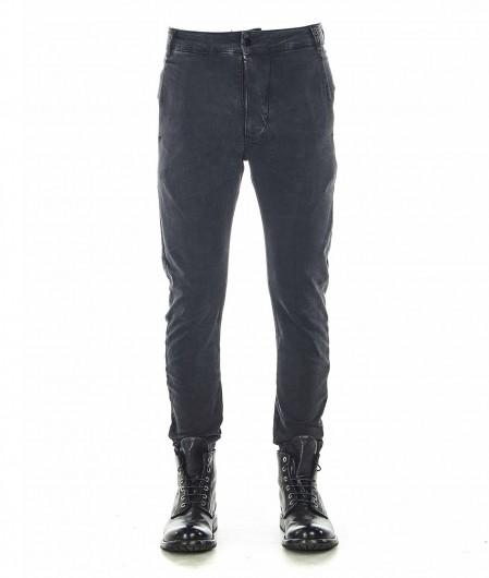 Thom Krom Jeans mit Nahtstickerei Schwarz