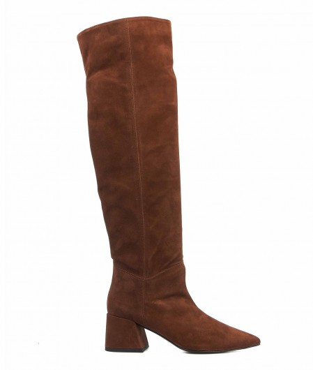 Giampaolo Viozzi  Boots in suede brown