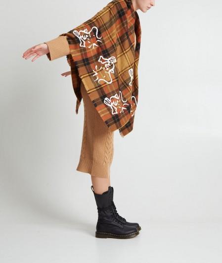 Kaos Cropped sweater Camel