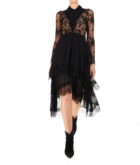 "Aniye By Shirt dress in lace ""Galy"" black"