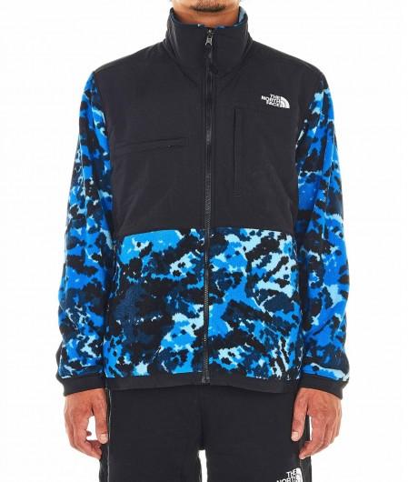 The North Face Leichte Jacke im Kontrastmaterial Blau