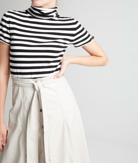 Twin Set High collar shirt multicoloured