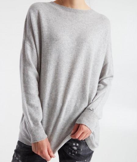 MVM Oversize sweater light gray