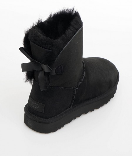 "UGG  Boots ""Mini Bailey Bow"" black"