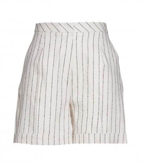 Kaos Shorts mit Streifen Creme