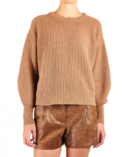 8PM Sweater Cratere light brown